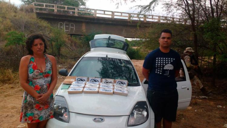 Casal foi detido durante operação policial na cidade de Contendas do Sincorá - Foto: Divulgação   SSP-BA