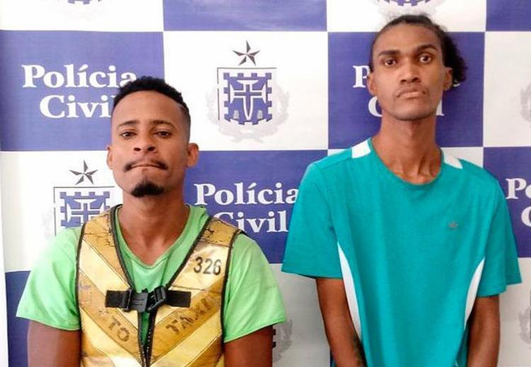 A dupla vinha sendo investigada há uma semana - Foto: Divulgação | Polícia Civil