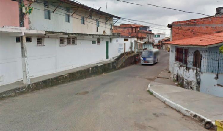 O acidente aconteceu na Rodolfo Barros, esquina com a rua João Custódio - Foto: Reprodução   Google Maps