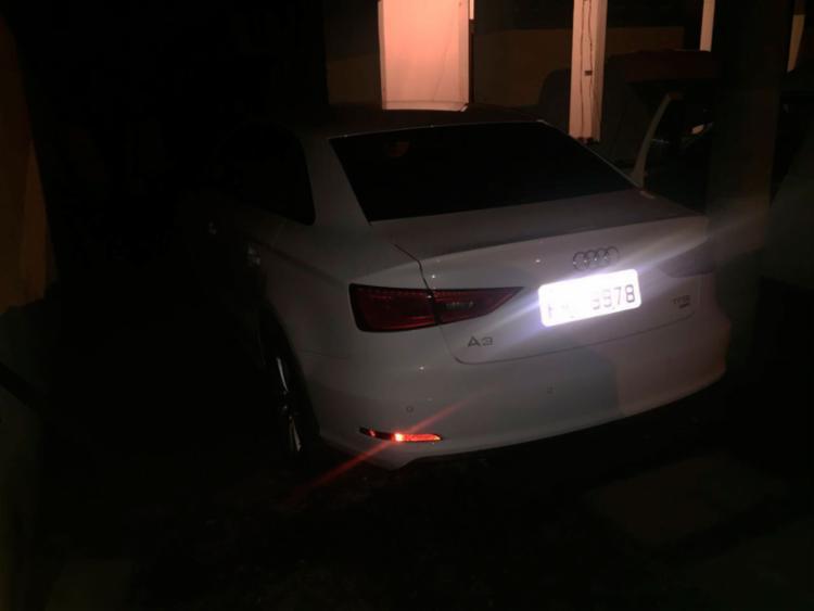 Audi tinha sido roubado e estava no local para desmanche - Foto: Divulgação | SSP-BA