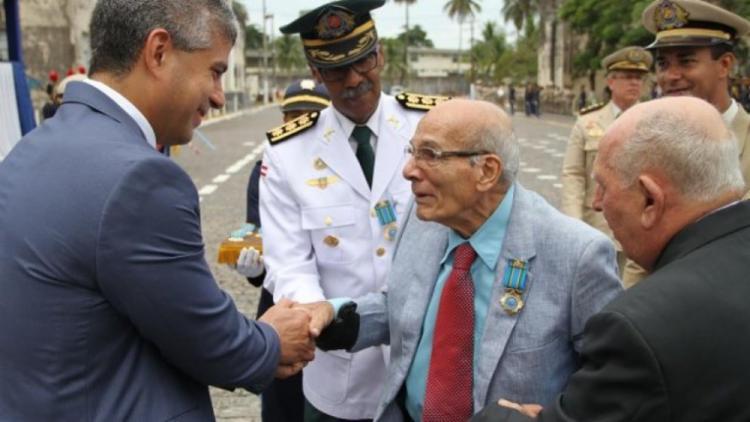 Ele foi chefe da Casa Militar dos governos Roberto Santos e Waldir Pires - Foto: Alberto Maraux | Divulgação | SSP-BA