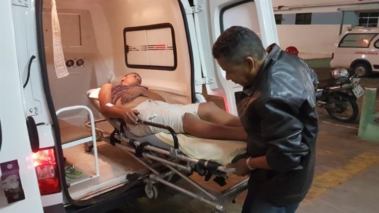 Ricardo Lima estava indo para o local onde o amigo colidiu a moto - Foto: Reprodução | Augusto Urgente