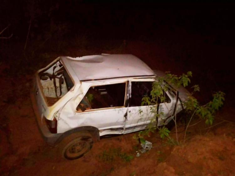 Wesley Santana, 28 anos, foi arremessado para fora do carro - Foto: Reprodução | Blog do Sigi Vilares