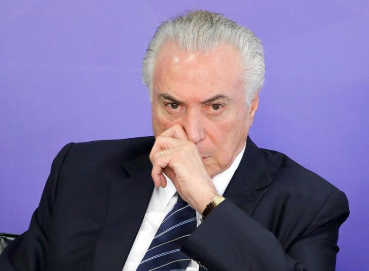 E o que será do Brasil se Temer escapar do processo agora? - Foto: Sergio Lima | AFP