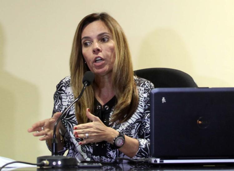 Promotora Rita Tourinho recomendou a rescisão - Foto: Lúcio Távora | Ag. A TARDE | 26.10.2016