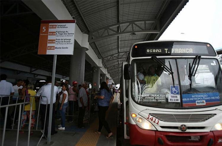 Integração só ocorre quando usuário acessa metrô após coletivo - Foto: Joá Souza | Ag. A TARDE | 15.09.2017
