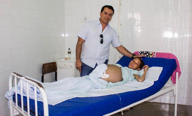 Em Igaporã, Daiane estava sendo acompanha pelo Dr. Ivson Petronilio da Cunha - Foto: Divulgação | prefeitura de Igaporã
