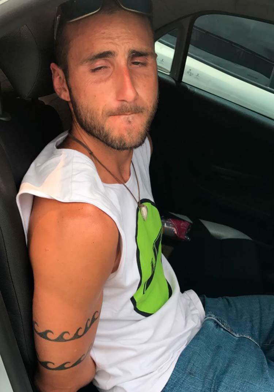 Tiago Tadeu Santana Fazzio Carvajal foi detido na saída do ferry - Foto: Divulgação | SSP-BA