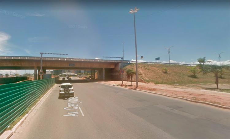 Acidente acontece na avenida Carybé - Foto: Reprodução | Google Maps