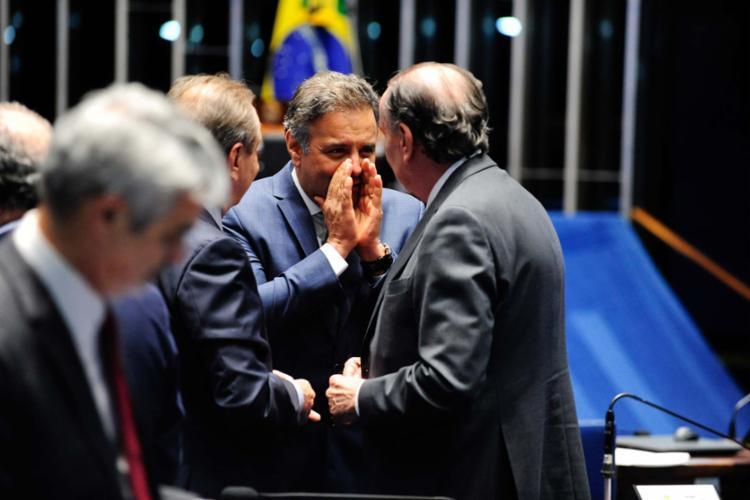 A estratégia para salvar Aécio uniu a base aliada e parte da oposição - Foto: Jonas Pereira | Agência Senado | 02.08.2016
