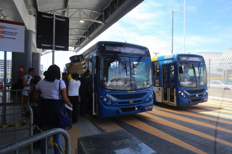 Com a integração completa do transporte público, ônibus da RMS irão para Mussurunga ou Pirajá - Foto: Xando Pereira   Ag A TARDE