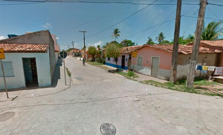 A desavença entre os amigos aconteceu na travessa Marques da Cruz, em Belmonte - Foto: Reprodução   Google Maps