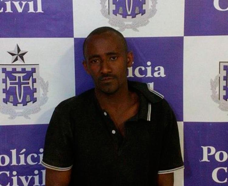 Maicon está custodiado, à disposição da Justiça - Foto: Divulgação   Polícia Civil