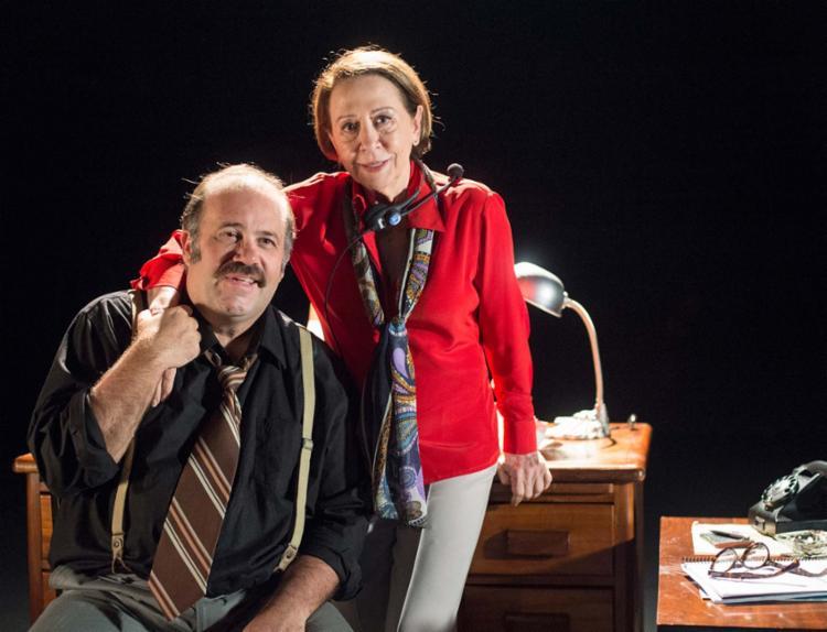 Os atores Fernanda Montenegro e Otávio Müller celebra a obra do escritor Nelson Rodrigues - Foto: Estevam Avellar | TV Globo | Divulgação