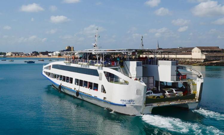 O sistema ferryboat vai operar em esquema especial durante o período - Foto: Rodrigo Mantoan | Divulgação