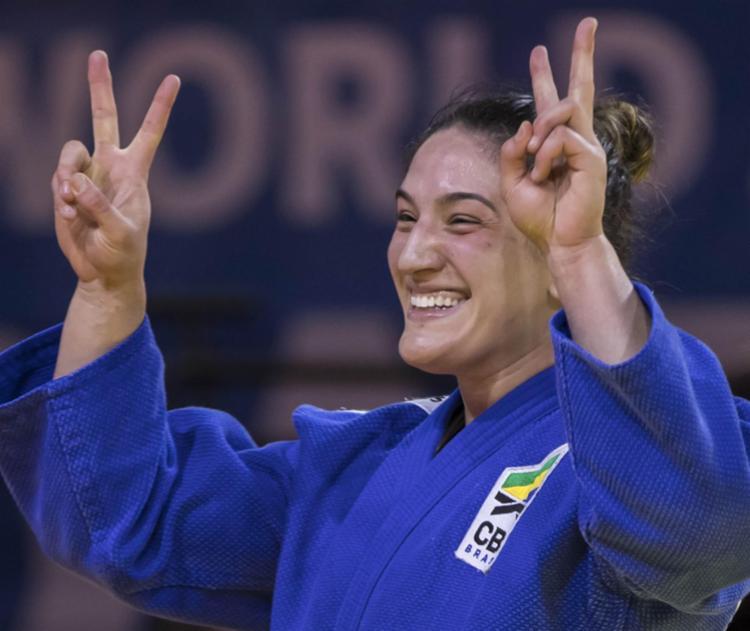 Mayra Aguiar conquista bicampeonato Mundial - Foto: Gabriela Sabau / IJF