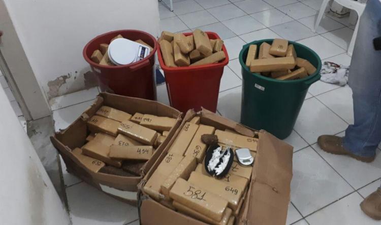 Dupla foi presa por tráfico de drogas - Foto: Divulgação | SSP