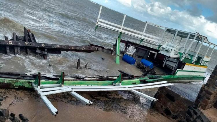 Naufrágio da embarcação Cavalo Marinho I deixou 19 mortos - Foto: Mateus Rodrigues   Divulgação