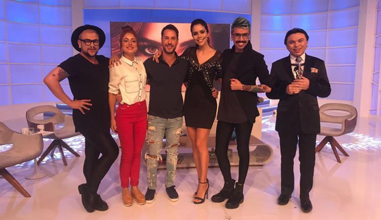 Daniela Albuquerque recebe youtubers no Sensacional - Foto: Divulgação