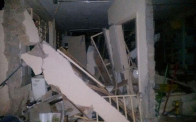 Explosões destruíram agências em Tremedal - Foto: Reprodução | Blog do Anderson