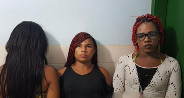 Trio foi identificado com auxílio de câmeras de segurança - Foto: Reprodução | Blog Braga