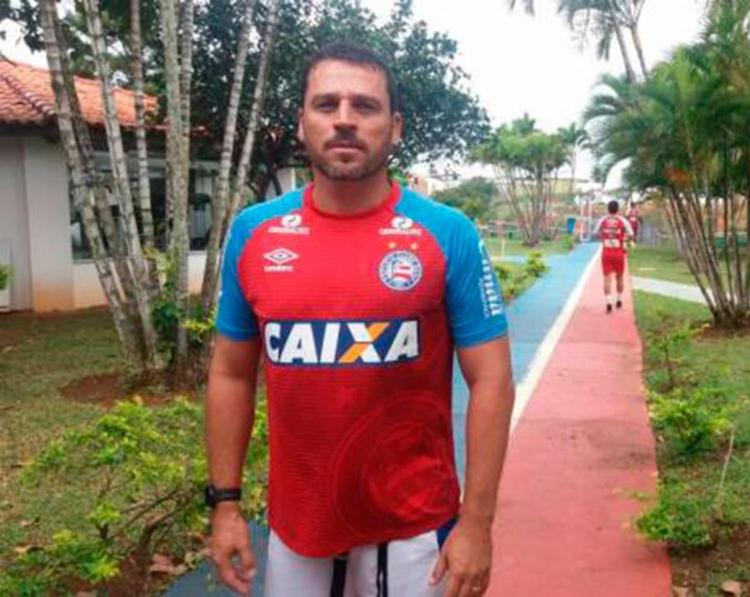 O ex-zagueiro já passou pelo Tricolor em 2009, como um dos auxiliares do técnico Gallo - Foto: Felipe Oliveira | EC Bahia