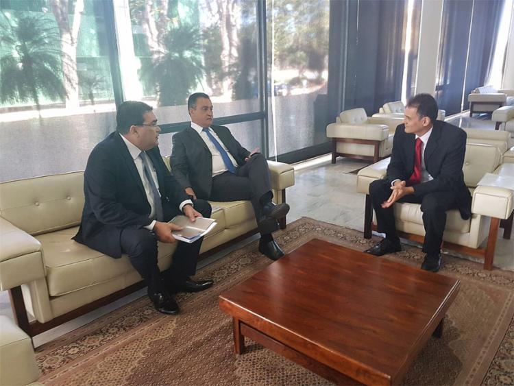 Rui e o procurador-geral do Estado, Paulo Moreno, estiveram diversas vezes no STF, com o objetivo de sensibilizar os ministros - Foto: Camila Peres l Gov-BA l Arquivo