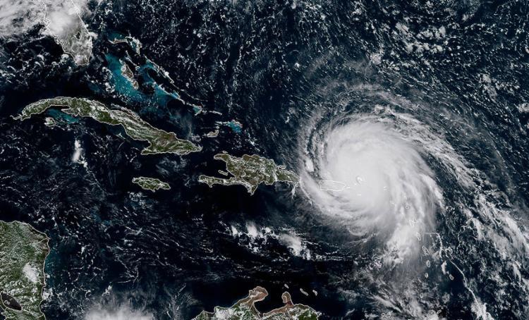 Furacão de categoria 5 deixou mortos no Caribe e devastou Barbuda; EUA estão em alerta - Foto: Ricardo Arduengo l AFP