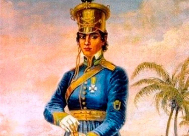 Maria Quitéria, a primeira mulher a integrar o Exército - Foto: Reprodução