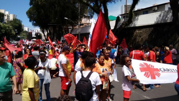 Concentração acontece no Forte São Pedro - Foto: Luciano da Matta | Ag. A TARDE