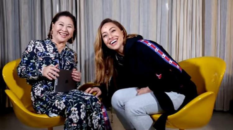 Sabrina Sato participou do canal de sua mãe - Foto: Reprodução | Youtube