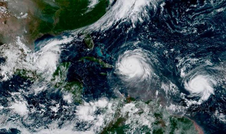 Imagem de satélite do furacão Irma - Foto: Reprodução | Nasa