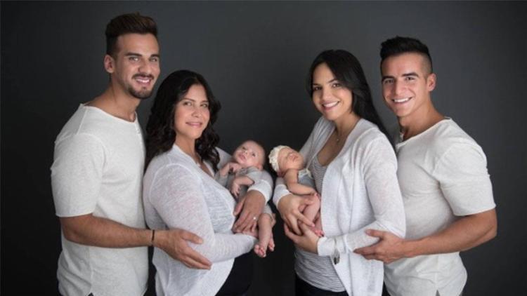 Matteo e Marla nasceram com diferença de um mês - Foto: Reprodução | Facebook