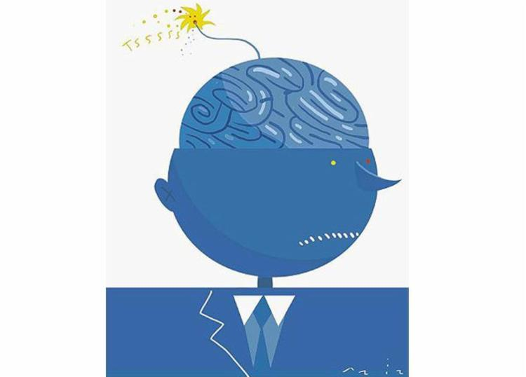 Depressão pela falta de resultados no trabalho pode levar ao suicídio, diz psicóloga - Foto: Bruno Aziz l Editoria de Arte A TARDE