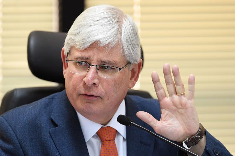 Procurador-geral acusa senadores, ex-presidente e também Sérgio Machado por organização criminosa - Foto: Evaristo Sa l AFP