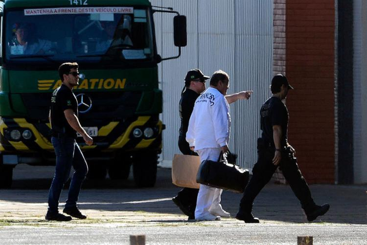 Ex-ministro foi levado a Brasília em um avião da PF - Foto: Valter Campanato l Agência Brasil