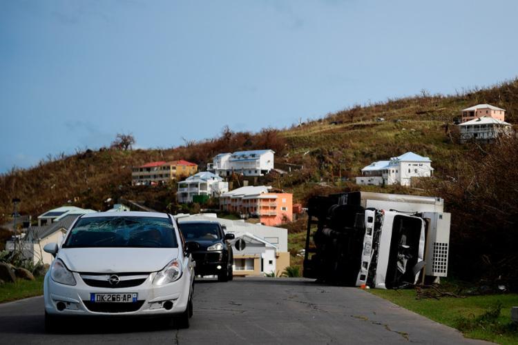Autoridades pediram para as pessoas que moram na região deixassem o local - Foto: Martin Bureau l AFP