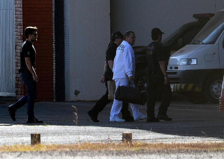 Ex-ministro foi detido em seu apartamento em Salvador e levado para o Complexo Penitenciário da Papuda - Foto: Valter Campanato l Agência Brasil