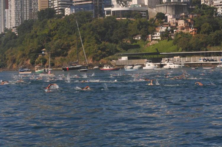Competição é promovida pela Federação Bahiana de Desportos Aquáticos (FBDA) - Foto: Divulgação