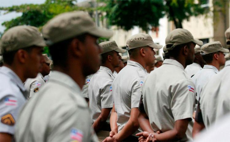 Foram contempladas equipes das polícias Civil, Militar e Técnica - Foto: Joá Souza   Ag. A TARDE   02.08.2016