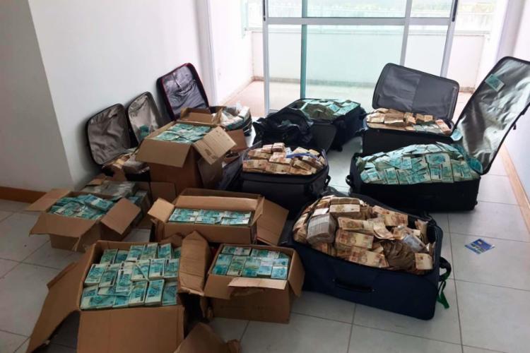 PF encontrou R$ 51 milhões em apartamento - Foto: Divulgação   PF