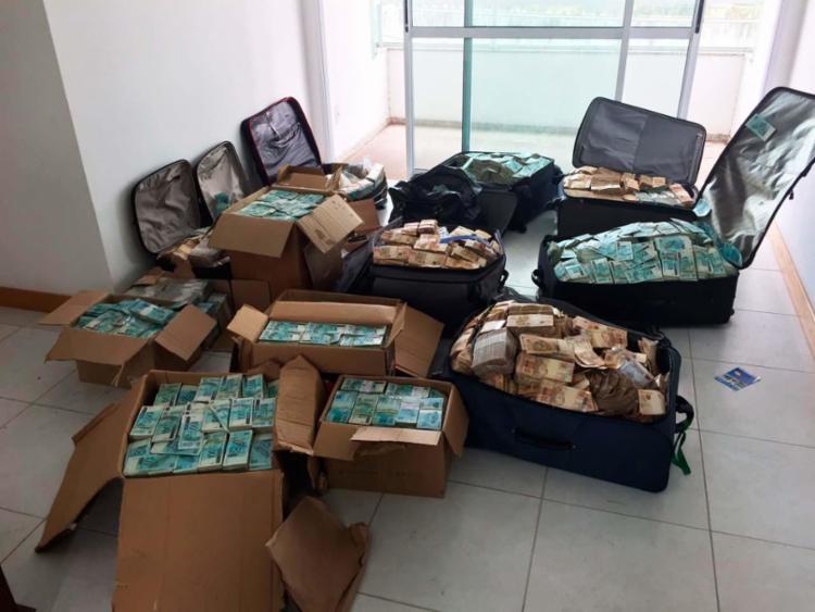 Advogados de Geddel afirmam que dinheiro encontrado em apartamento não tem origem ilícita - Foto: Divulgação | PF