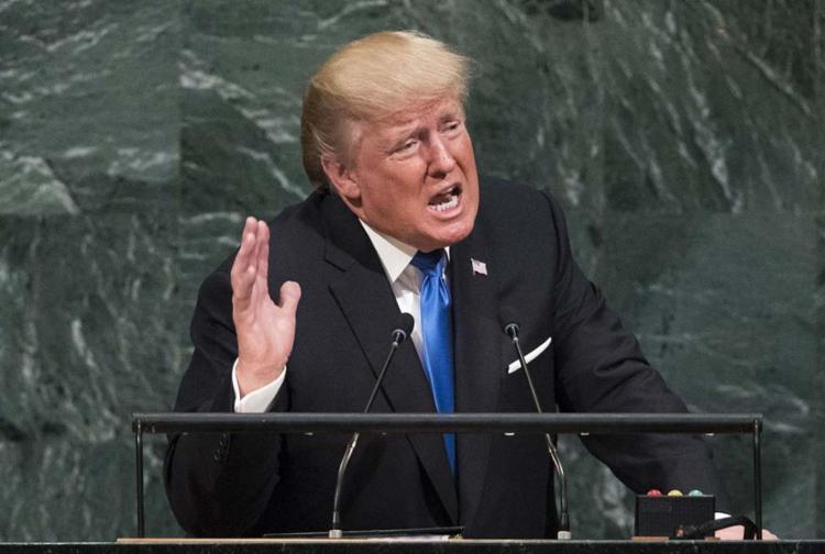 Trump falou que construir o muro é uma questão de Defesa Nacional - Foto: Drew Angerer   Getty Images   AFP