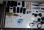 Celulares, drogas e armas são encontradas dentro de delegacia em Alagoinhas | Foto:
