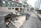 Obra emergencial interdita rua Politeama de Baixo | Foto: