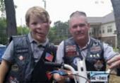Menino com doença rara sofre bullying e é escoltado por motoqueiros até a escola | Foto: