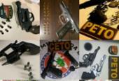 PM apreende mais de 45 armas e simulacros no fim de semana | Foto: