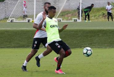 Vitória finaliza preparação para o duelo contra o Sport