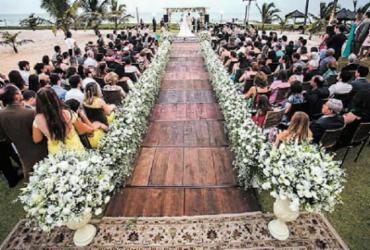 Cerimonial de casamentos já se prepara para a alta estação