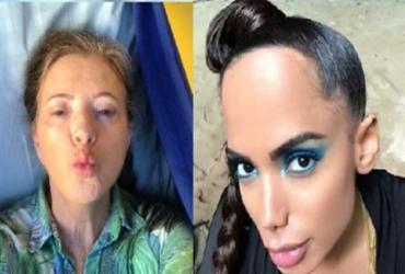 Mãe de Luana Piovani ataca Anitta nas redes sociais: 'A orelha é coisa de belzebu'